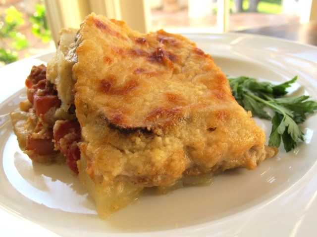Vegetable Moussaka | Foodie's Crack! | Pinterest
