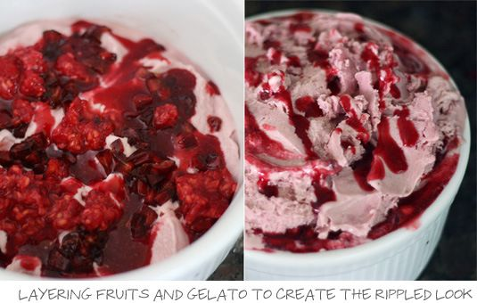 Raspberry and Cherry Gelato | Cooking - Recipes - Sweets - Frozen | P ...