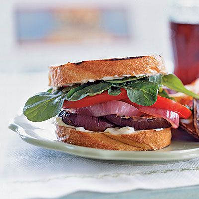 Grilled Eggplant Sandwiches | For the love of food | Pinterest