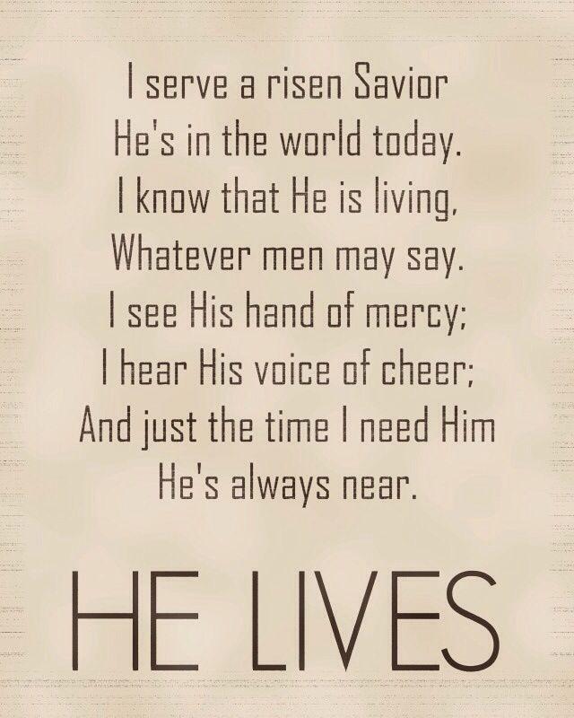 He lives | God Girl | Pinterest