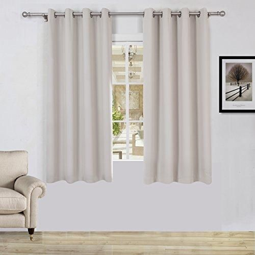 63 inch grommet blackout curtains