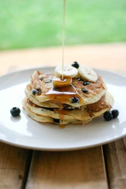 ricotta hotcakes with maple butter syrup | breakfast love | Pinterest