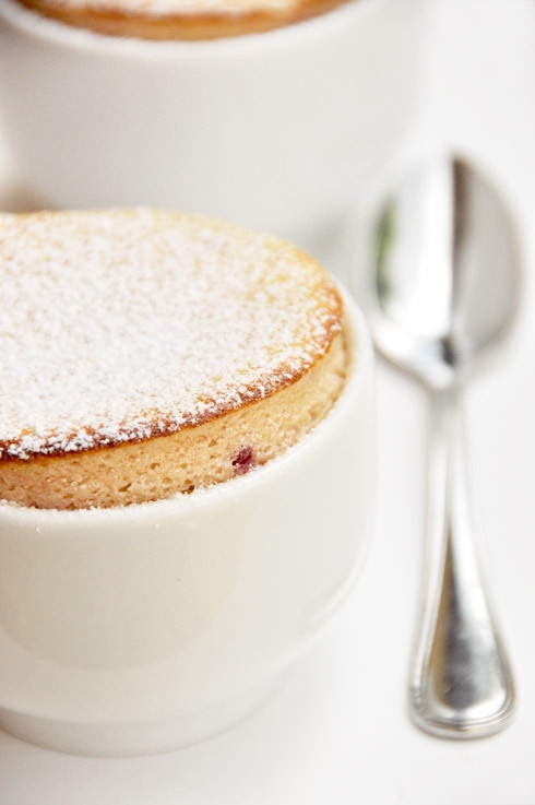 Raspberry souffle | where's chocolate? | Pinterest