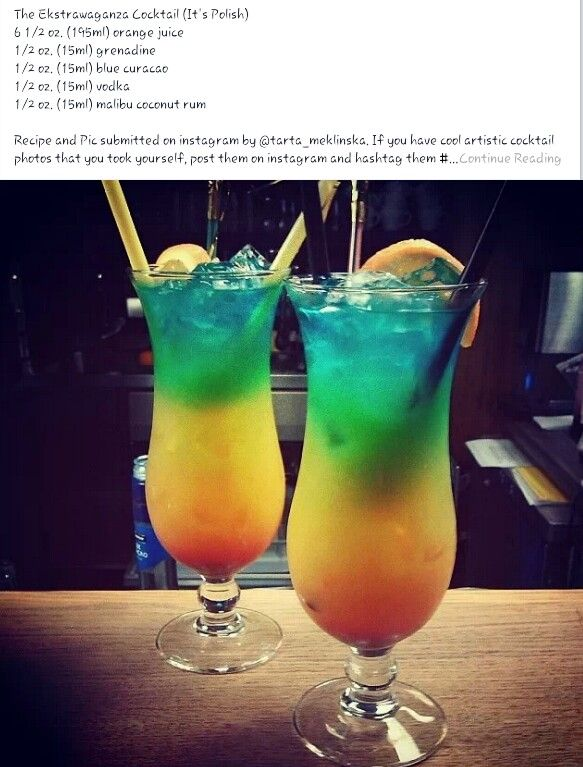 Pin by michelle parker on drinks pinterest for Orange and blue cocktails