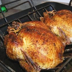 Roast Sticky Chicken-Rotisserie Style | Recipe