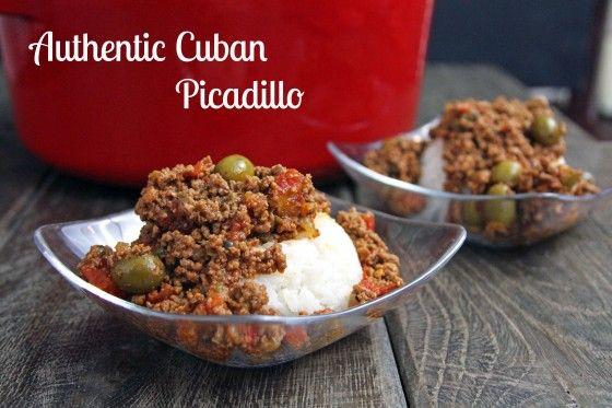 Authentic Cuban Picadillo | Recipe