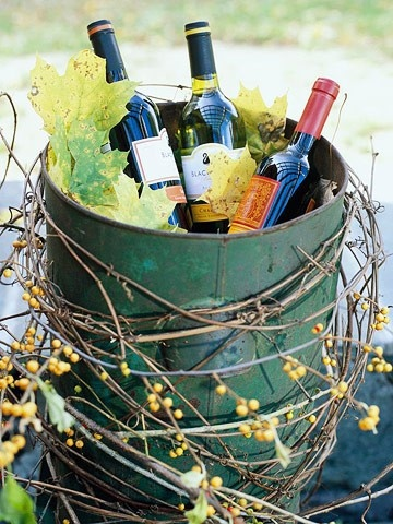 .fall.. wine party or garden party idea.
