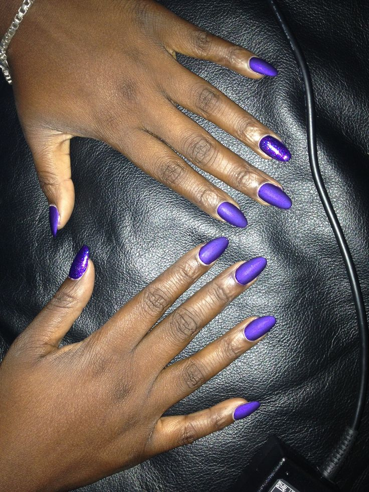 matte nail designs almond source http quoteko com almond nails designs ...