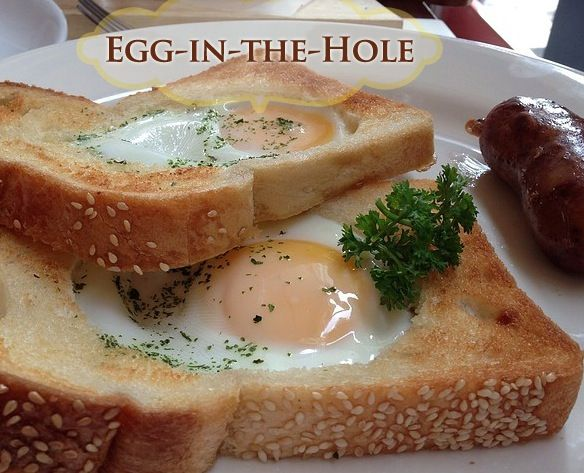 Egg-in-the-Hole – Food Recipes | Favorite Recipes | Pinterest