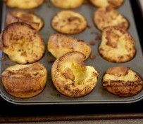 Herbed Popovers | Recipes by Amy Tobin | Baking Breads | Pinterest