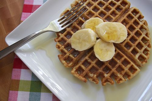 Brown Butter Waffles | Yum remember to make these | Pinterest