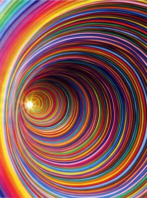 The Rabbit Hole......art, color, esoteric, ethereal; certainly draws one in