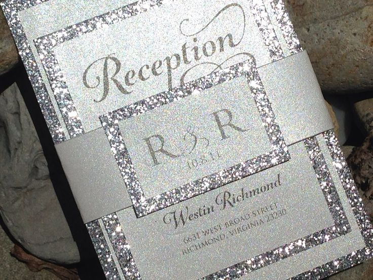 Sparkly Wedding Invitations correctly perfect ideas for your invitation layout