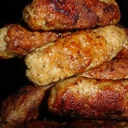 Mom's Turkey Sausage Patties | Recipe