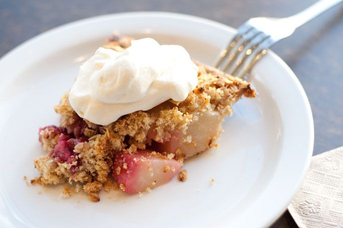 Pear & Raspberry at Mission Pie. | For the Piece of Pie | Pinterest