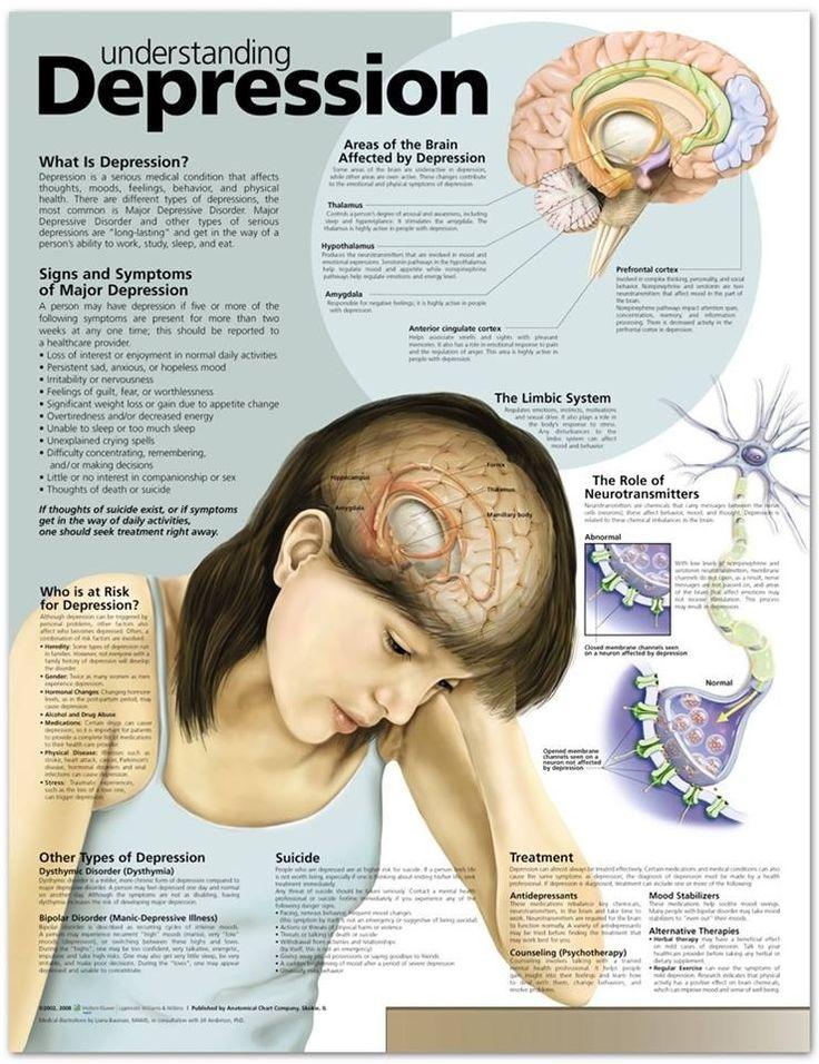 Understanding #depression. #health #brain #Psychology #neuroscience