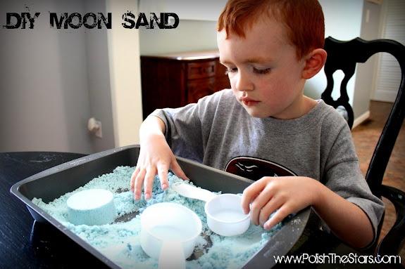 DIY Moon Sand