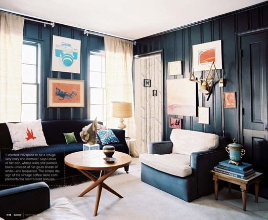 Painted Wall Paneling