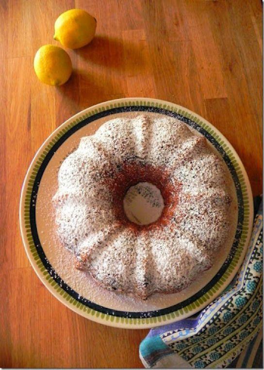 Blueberry-Lemon Bundt Cake | HOW SWEET! | Pinterest