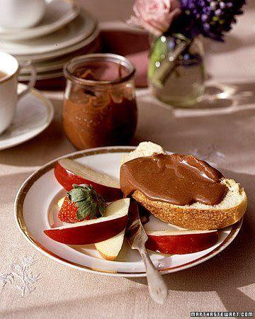 Chocolate-Hazelnut Spread from Martha
