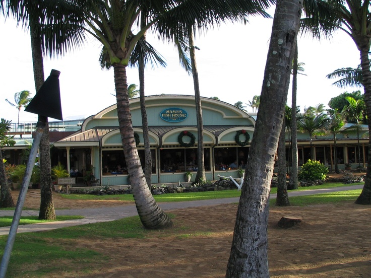 Mamas fish house maui favorite places spaces pinterest for Mamas fish house lunch menu