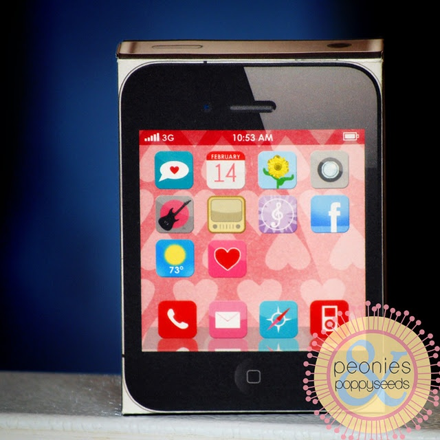iphone valentines day box