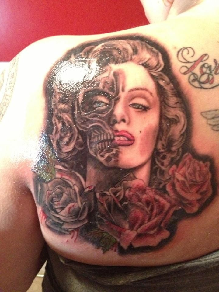 Pornstar Tattoo Marilyn Monroe