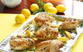 ... Sucré Farine: Roasted Chicken Breasts w/ Lemon, Garlic & Rosemary