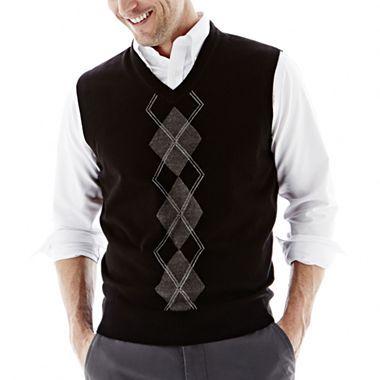 Dockers® Argyle Sweater Vest - jcpenney