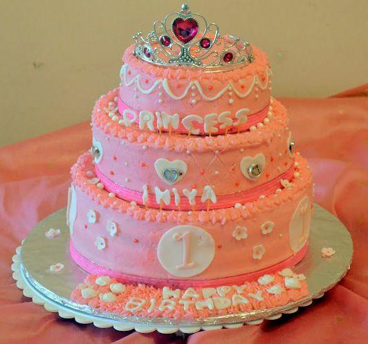 Cakes Princess Pinterest