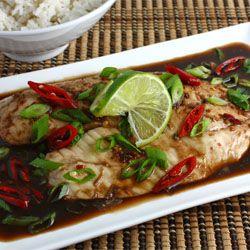 Tilapia Baked in Tamarind Sauce | Food & Drink | Pinterest