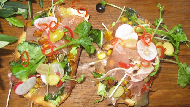 "Bean bruschetta | RECIPE FILES:- ""Get your Groove on!!!"" Party Fare..."