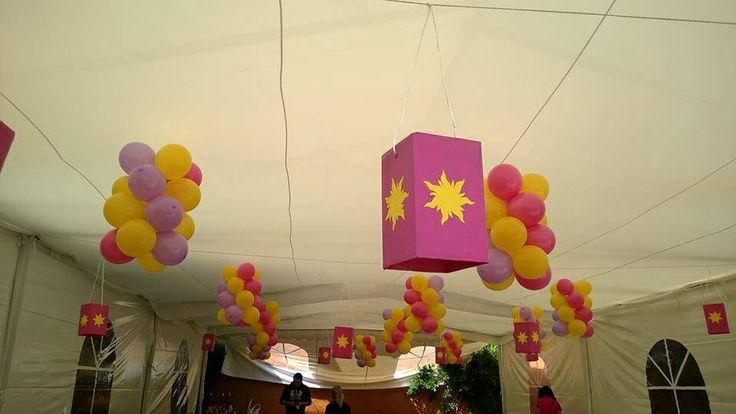 Decoracion Rapunzel Fiesta ~ Decoraci?n fiesta rapunzel  Party caro  Pinterest