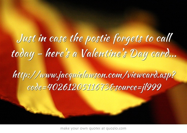 valentine day quotes card