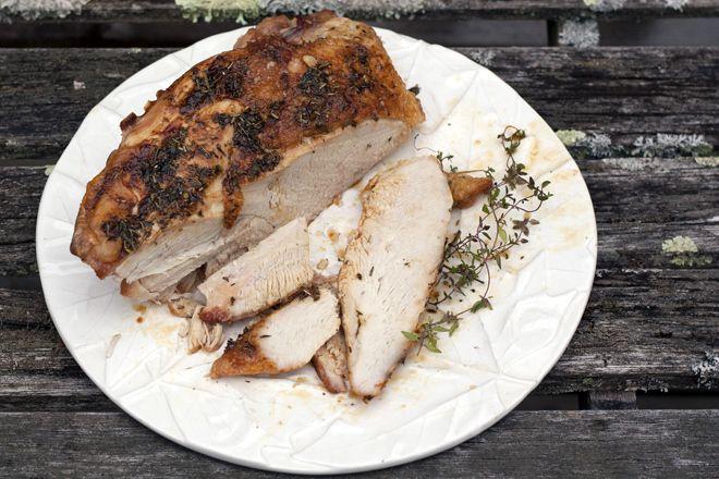 Herb-Roasted Turkey Breast | Recipes | Pinterest