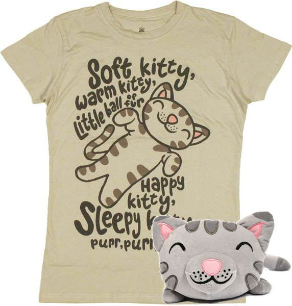 Soft kitty, warm kitty... big bang theory