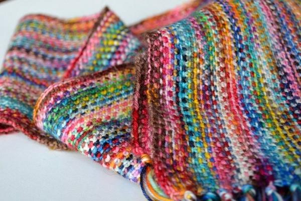 Scrappy Sock Yarn Scarf Crafty Pinterest