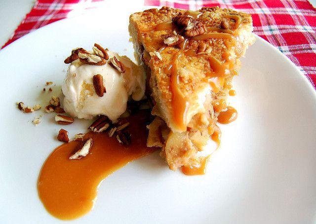 Deep-Dish Caramel Apple Pie | Desserts | Pinterest