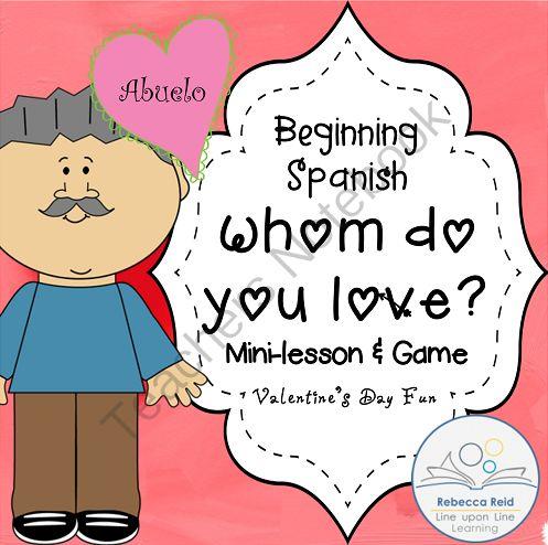 esl valentine's day board games