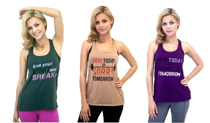 Check out our new graphic tanks $18.00 http://www.yogiclothing.com