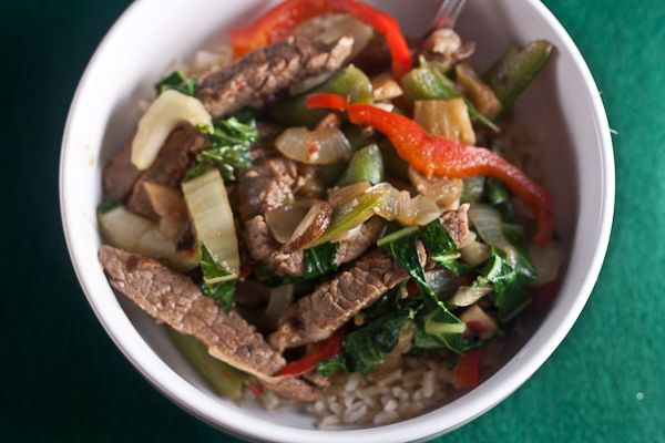 Ginger Beef Stir Fry - Healthy. Delicious.