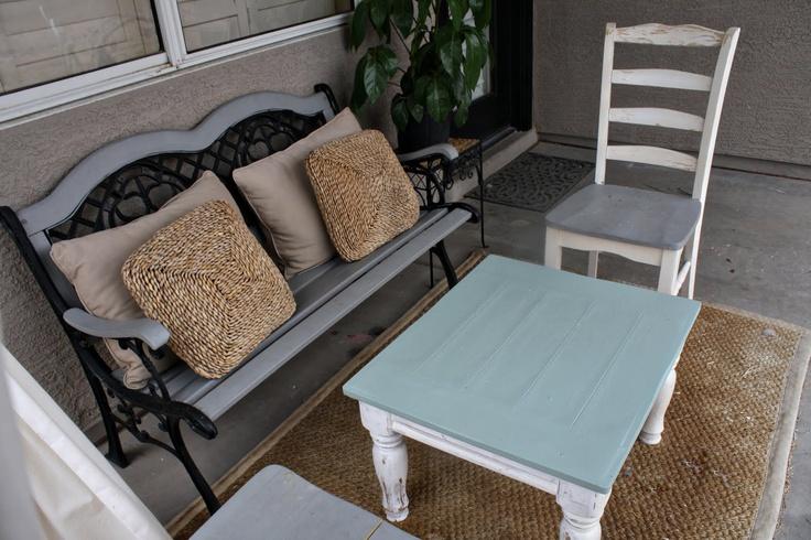 Painted Outdoor Furniture : painted outdoor furniture ideas  Outdoor Furniture  Pinterest