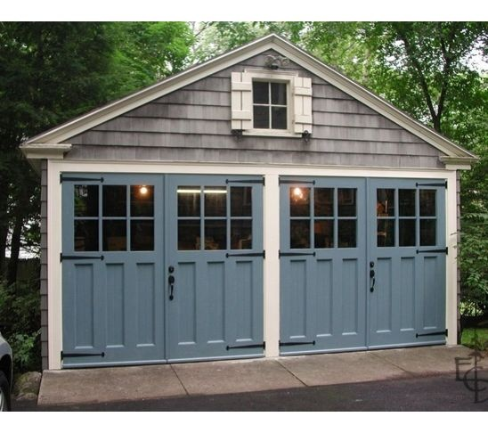 French Door Garage Door Home Dream Front Yard Pinterest
