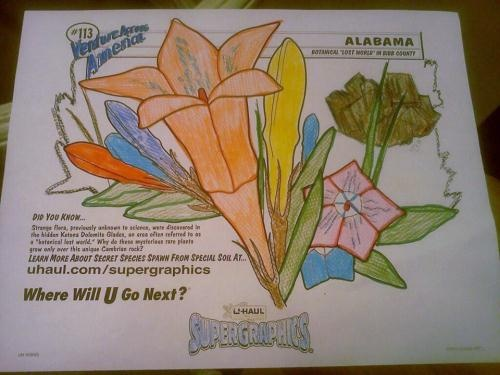 u haul supergraphics coloring contest pages - photo #12