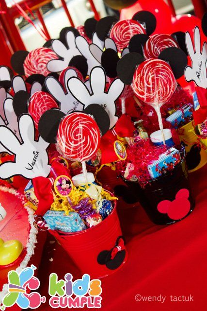 Recordatorios fiesta Mickey Mouse