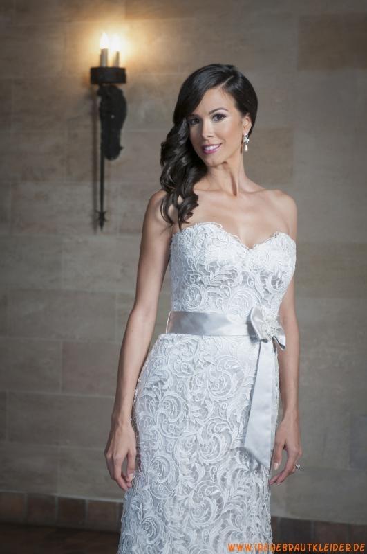 Sexy Brautkleider 2013 aus Spitze und Satin Kolumne Herzauss...