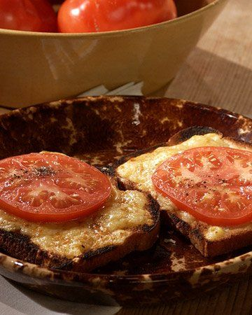 Welsh Rarebit With Roasted Tomatoes Recipes — Dishmaps