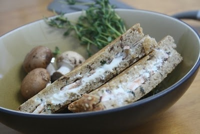 Grilled Goat Cheese & Mushroom | Eats | Pinterest