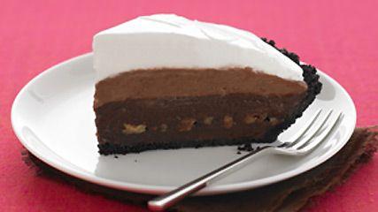 Triple-Layer Mud Pie
