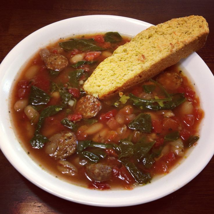 Hearty Italian Sausage Soup | soups and chilli's | Pinterest